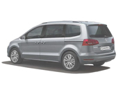 VW Sharan Our Fleet London Gatwick Airport Taxi Transfers Petersfield Airport Specialists Taxi Services to the Souths Leading Airports Heathrow Gatwick London City Airport Bristol Bournemouth Southampton Stansted Luton - Portsmouth & Southampton Cruise Terminal - Buriton Harting Hillbrow Langrish Liphook Liss Rogate Sheet Stroud Weston